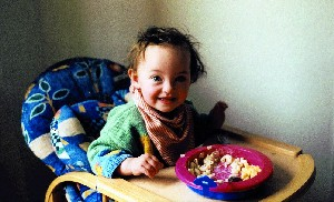 Adstringierende Ernährung für Kinder ab 2 Jahren